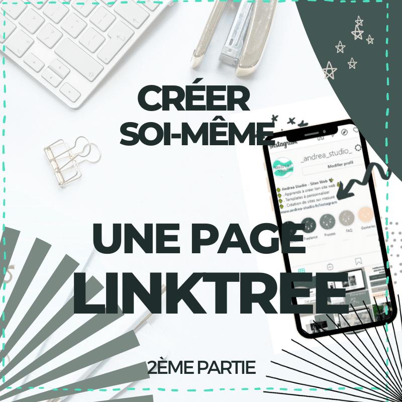 Créer une page Linktree sur son site