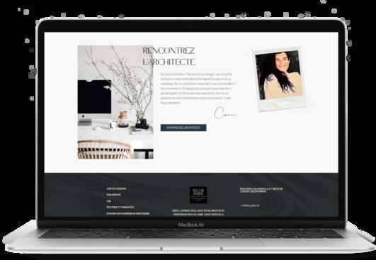 site internet architecte d'interieur