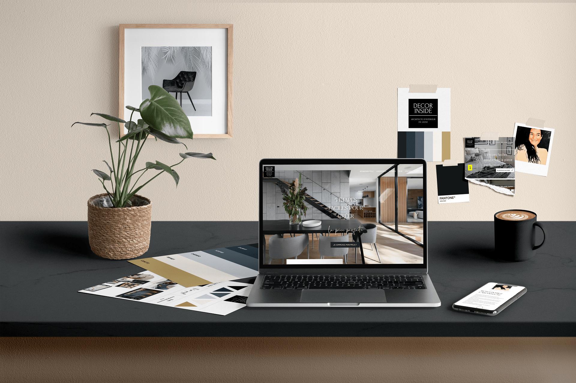 creation de site internet architecte d'intérieur