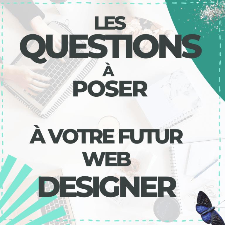 Creation d'un site web : 15 questions à poser à votre web designer