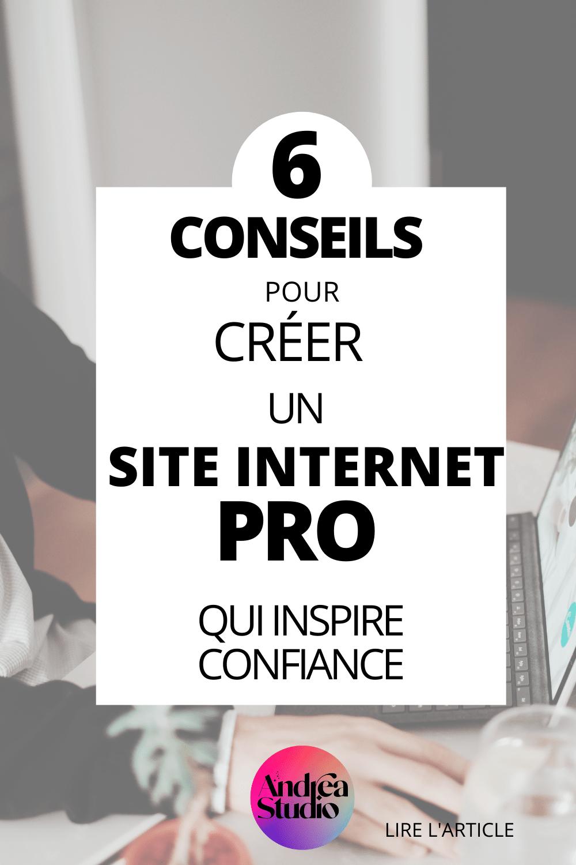 6 conseils pour créer un menu de site internet